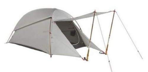Kelty Horizon 2 tent - front door and front vestibule which transforms into awning.