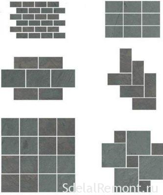 methods for laying tile