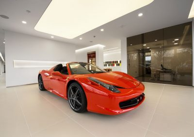 Stretch Ceilings Ltd Lighting Solutions Car Showroom