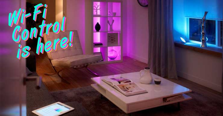 Control LED strips with your smartphone