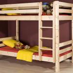 Как изготовить двухъярусную кровать