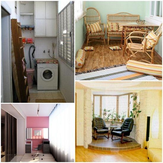 """Комната из балкона или лоджии журнал """"дизайнер""""."""