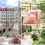 Начало весны – время подумать о дизайне балкона