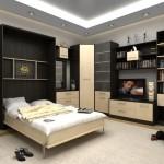 Кровать в шкафу: эргономичные решения для малогабаритной квартиры