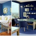 Синий интерьер: оттенки синего в дизайне интерьера