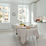 Белые кухни: дизайн интерьера