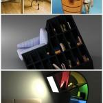 Нестандартная мебельная стенка