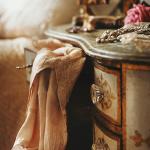 Женская спальня в стиле винтаж