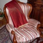 Реставрация мебели: меняем обивку кресла