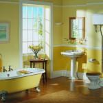 Цветовое оформление ванной комнаты: яркость и контрасты