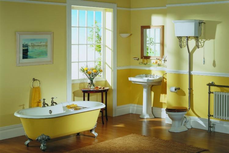 Цветовой дизайн ванной комнаты фото