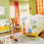 Дизайн интерьера детской комнаты для новорожденного