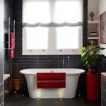 Стильную ванную можно получить даже несколькими декораторскими идеями
