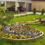 Цветник в ландшафтном дизайне – сказка на участке