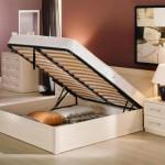 Кровати с подъёмными механизмами и ящиками для белья