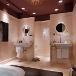 Дизайн ванной комнаты с характером