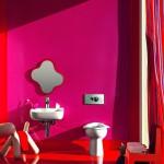 Дизайн ванной в цвете: яркий интерьер ванной