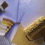 Способы и приемы окраски флизелиновых обоев