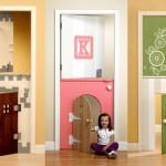 Двери детской комнаты – особая забота дизайнера