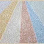 Флизелиновые обои - способы и приемы окраски