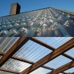 Прозрачная крыша в интерьере