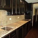 Облицовка рабочей поверхности на кухне
