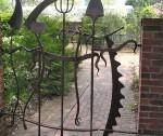 садовая калитка
