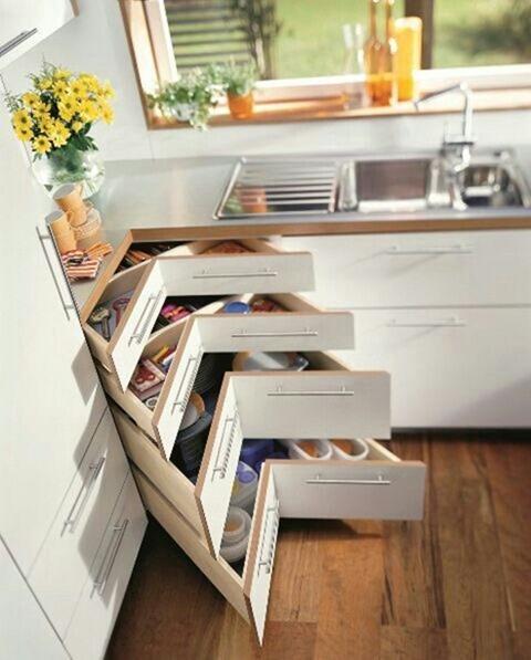 Идеи для увеличения вместимости кухонной мебели