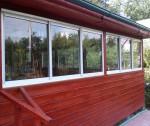 Раздвижные окна для террас и беседок