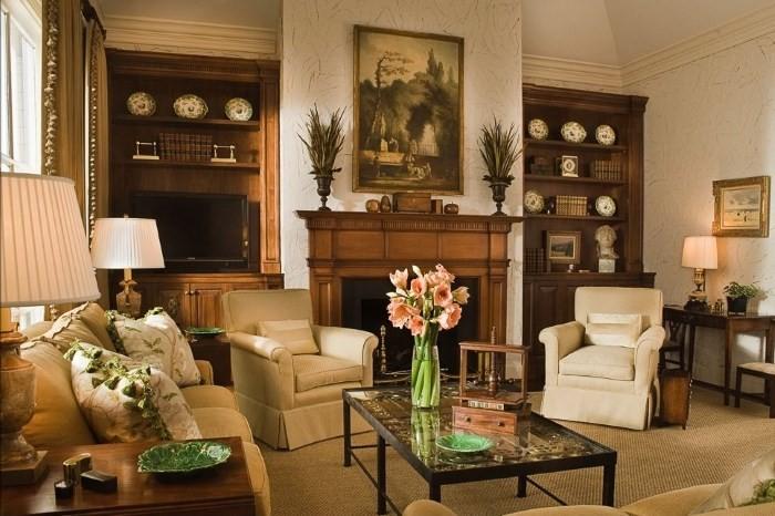 гостиная в голландском стиле